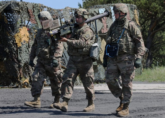 US and allied partners demonstrate air defense force