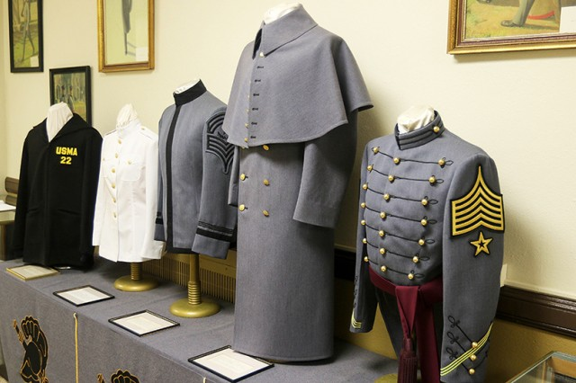 The Cadet Uniform Factory at the U.S. Military Academy makes almost every uniform worn by cadets including the full-dress coat, India Whites, long overcoat and the pea coat.