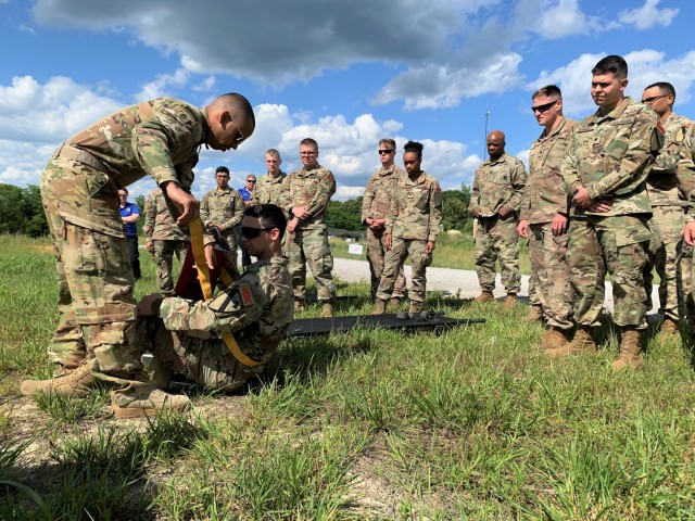 1st Medical Brigade provides major support to future Army leaders