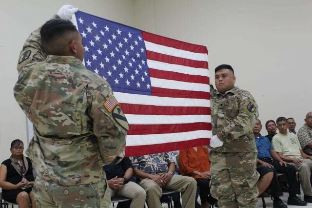 Army Reserve Soldiers honor those that tread before them with retirement ceremony