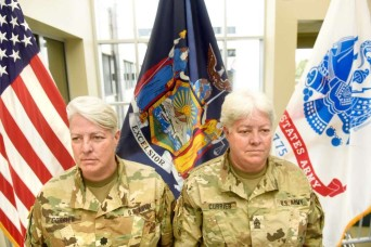 Sisters enlist and retire together after 34 year National Guard career