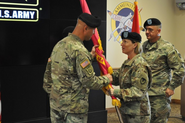 Crane Army welcomes new Commander