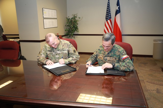 Army South hosts Chilean Army during bilateral staff talks