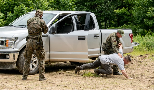 W.Va. Special Forces train with Polish and Latvian forces