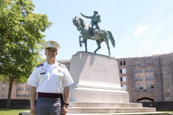 Cadet finds new chance to define himself, take lead in training