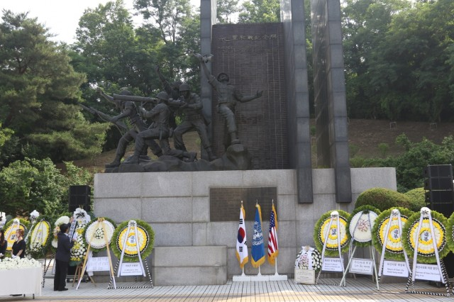 Eighth Army, ROK, commemorate first Korean War battle