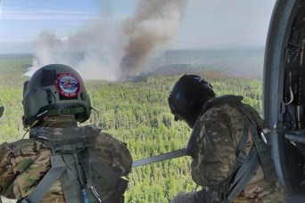 Alaska National Guard assisting authorities with three fires