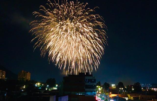 Liberty Fest celebration in Daegu
