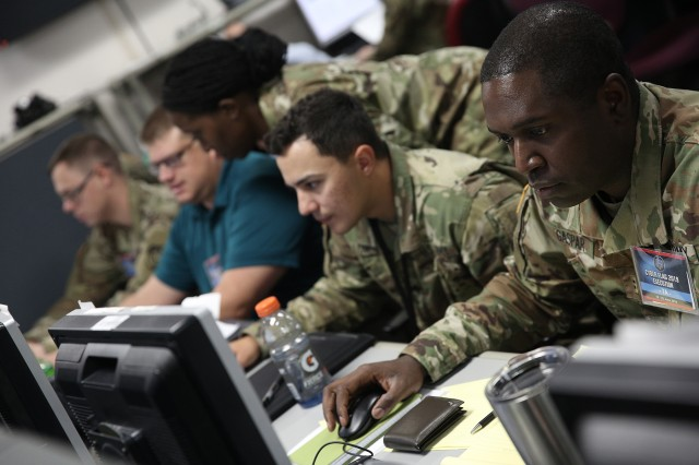 U.S. service members and civilians, as well as partner nation military personnel, participated in the Cyber Flag 19-1 exercise, June 21-28, in Suffolk, Va. The tactical-level exercise focused on the continued building of a community of defensive cyber operators and the improvement of the overall capability of the U.S. and partner nations.