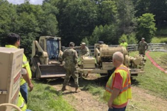 W.Va. Guard Soldiers continue their response to flooding