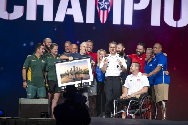 2019 DoD Warrior Games Closing Ceremony