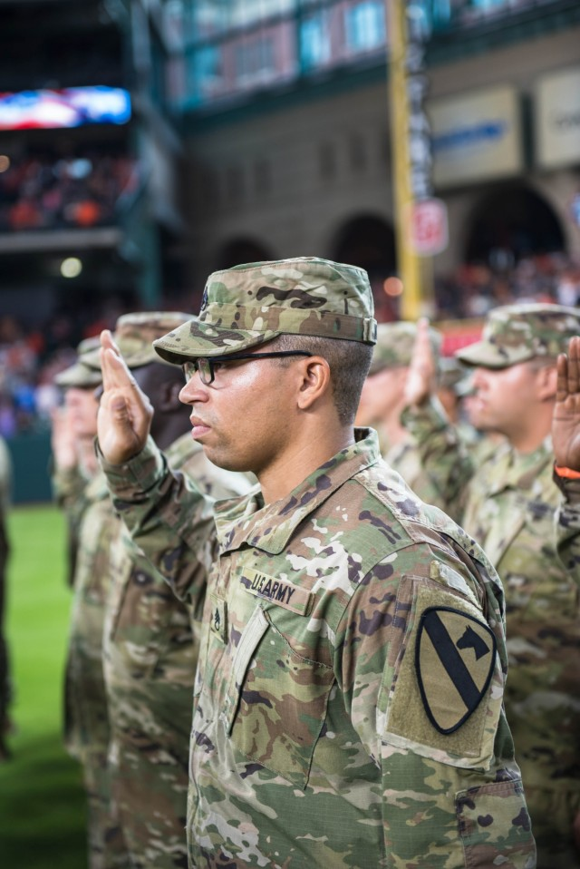 Dedicated sustainers, III Corps Soldiers recommit service to the nation