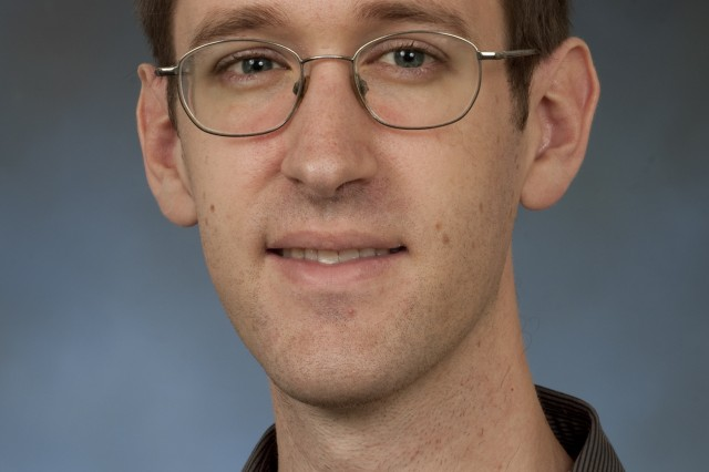 Dr. Nathan Lazarus, an electronics engineer with the U.S. Army Combat Capabilities Development Command's Army Research Laboratory, has received the Presidential Early Career Award for Scientists and Engineers for his research in stretchable power electronics.