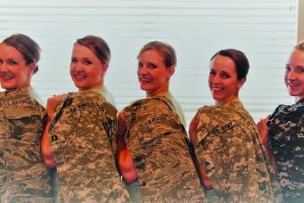 Five Utah sisters take five different military paths