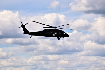 Wisconsin National Guard holds UH-60 Black Hawk training