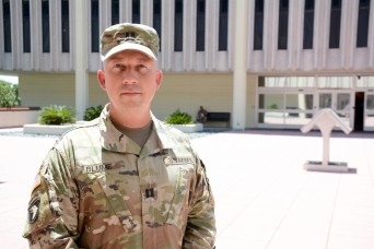 Soldier helps save life of man struck by lightning
