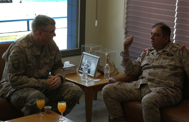 U.S. Army and Kuwait Naval Force Sustainment Planning