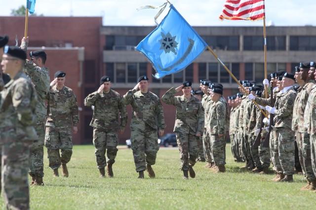 741st Military Intelligence Battalion change of command ceremony