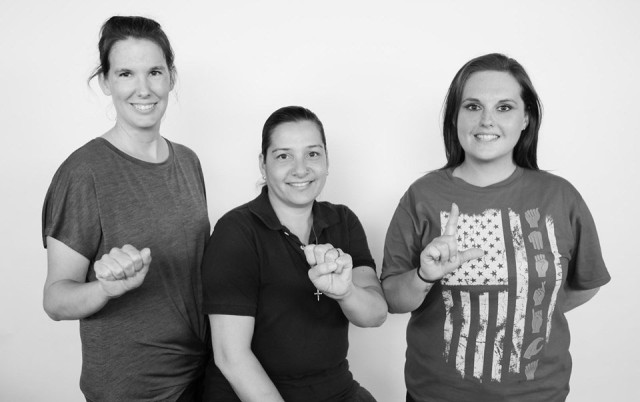 Blanchfield offers free ASL chat for patients and staff