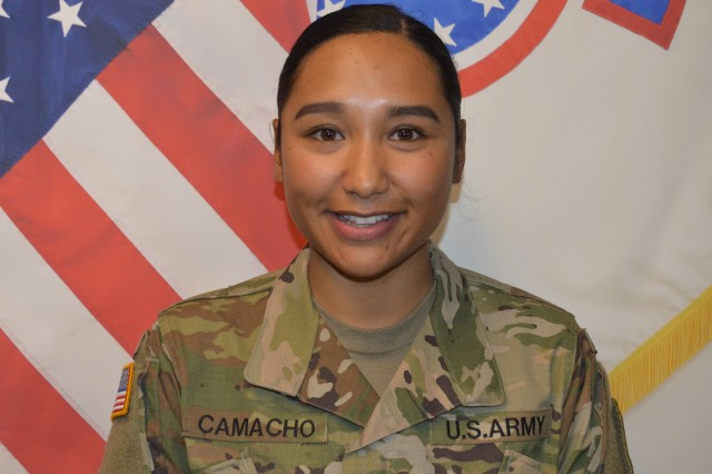 2Lt. Chrystal Camacho participated in Staff Sgt. Shannon's fitness training program.  She achieved her goal to meet the Army's weight standards to enlist and become an Army Officer.  She graduated the top of her class and will train as a Black Hawk pilot.