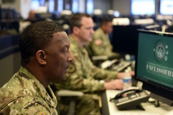 Guard Coordination Center helps states respond to disasters