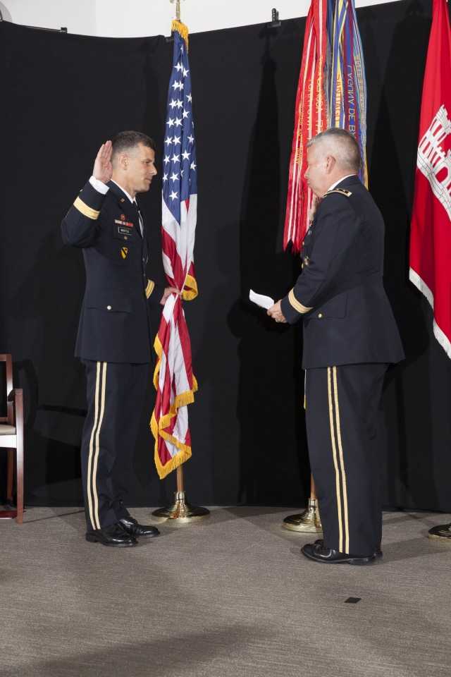 Whittle promoted to rank of Major General