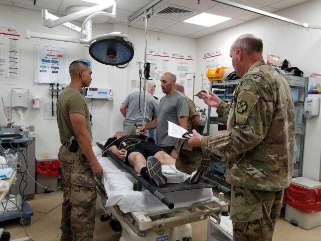 MASCAL Exercise conducted at Camp Arifjan, Kuwait