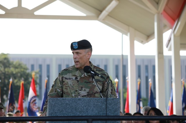 U.S. Army South welcomes new commander