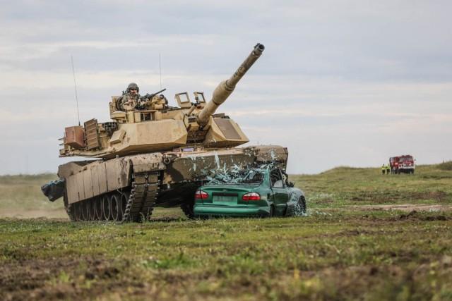 Battle Group Poland participates in epic 'Tank Battle'