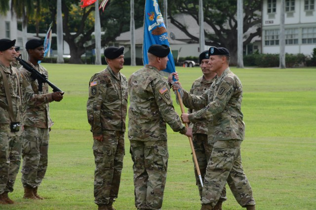 205th MIB Welcomes new Commander