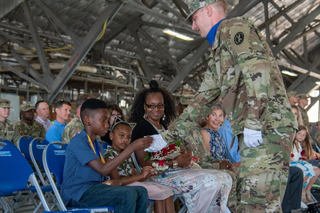 United States Army Priority Air Transport Command (USAPAT) Change of Command