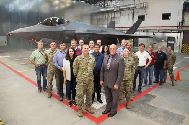 USACE South Pacific Division leaders visits Hill AFB