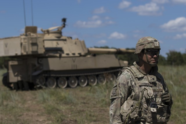 1st Cavalry Division Artillery Joint Live-Fire