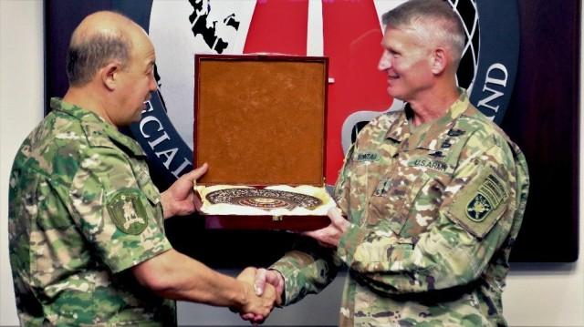 USASOC hosts Uzbekistan partners