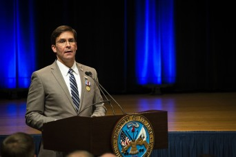 Secretary Esper thanks Soldiers in farewell message