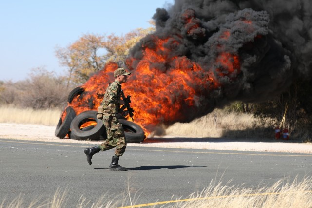 Putting the Training to the Test: U.S. and Botswana Forces Complete Final Upward Minuteman Exercise