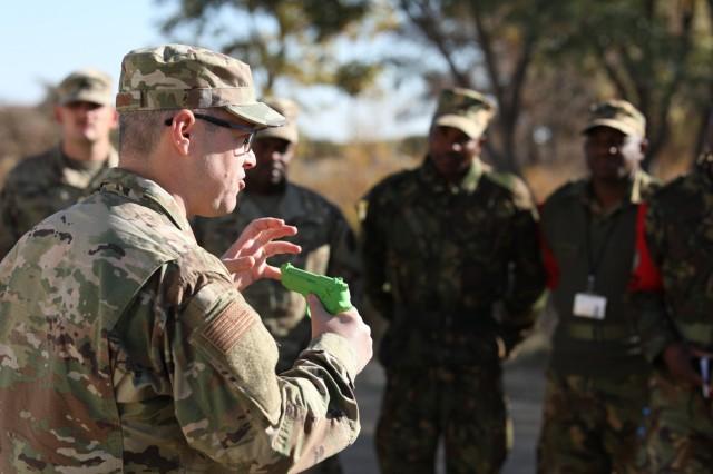 Army and Air Guardsmen from North Carolina, Alabama, and New Jersey Travel to Botswana for Operation Upward Minuteman 2019