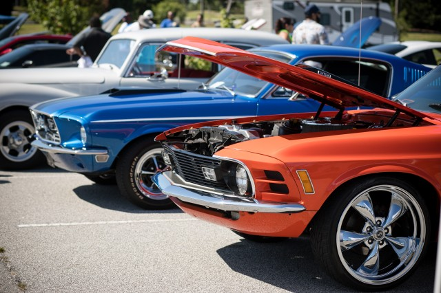 "Classic cars, hot rods and motorcycles gleamed in the sun during the 13th Annual Auto Craft Car and Bike Show July 20. Hundreds attended the event held at Patriot's Park to admire the displays and to ""talk shop"" with the owners. Best in Show awards were given to the top voted in the classic car, new age, sport bike, cruiser bike and truck categories."