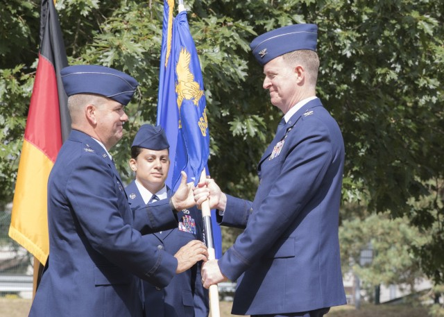 86th MDS holds change of command