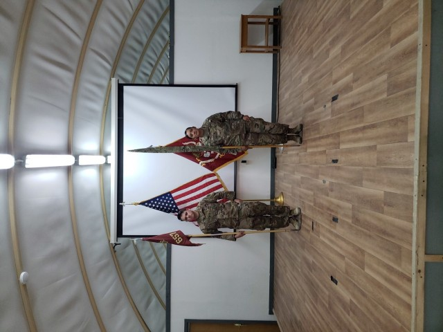 TOA Ceremony between the 657th and 607th Movement Control Teams