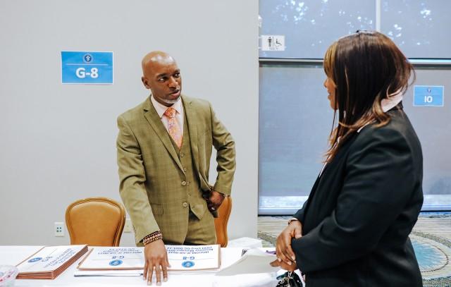 U.S. INSCOM Career Fair connects employers, job-seekers