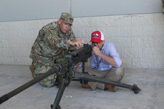 Hands on with M2A1 .50-Caliber Machine Gun