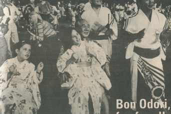 Longtime Camp Zama residents reflect on Bon Odori Festival on eve of its 60th anniversary