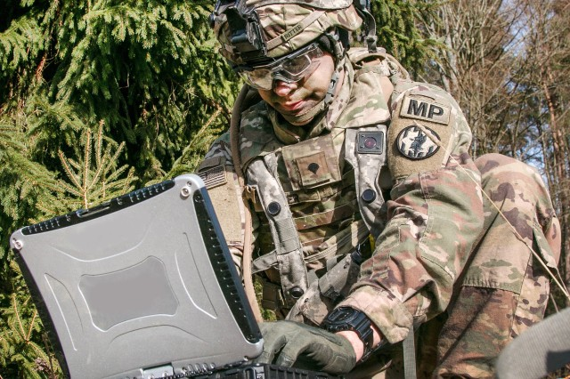 The CCDC C5ISR Center is developing wearable authentication tokens that will enable Soldiers at every echelon to prove their identity when operating systems, devices and applications on the Army tactical network.