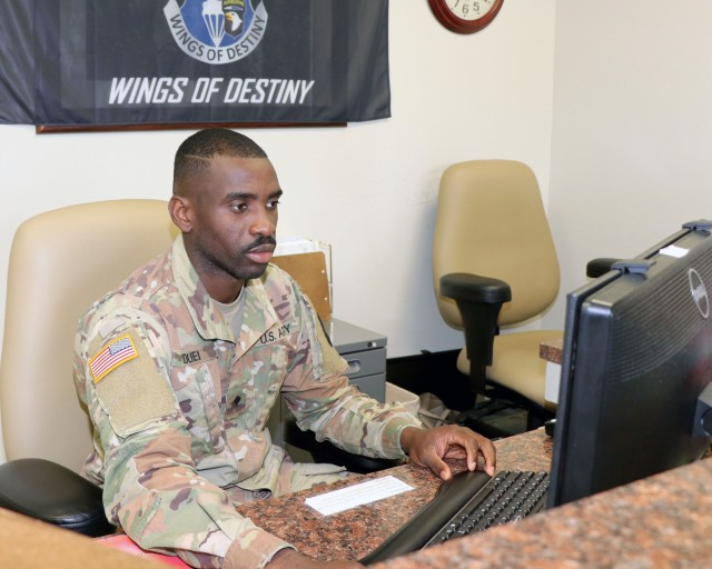 Ivory Coast native named Blanchfield's Soldier of the Quarter