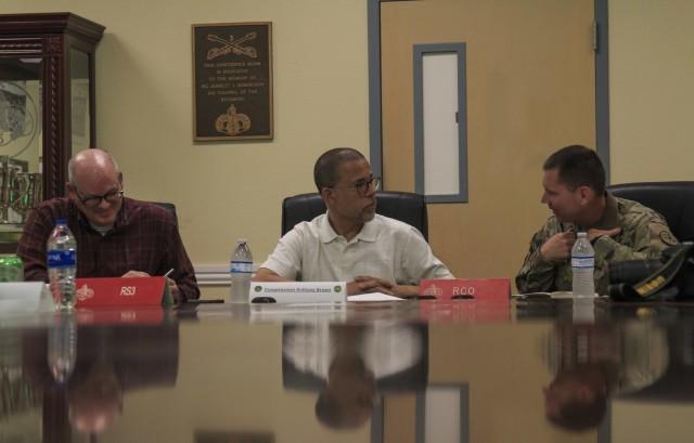 3d Cavalry Regiment Host Congressman Brown in Pre-Deployment Roundtable