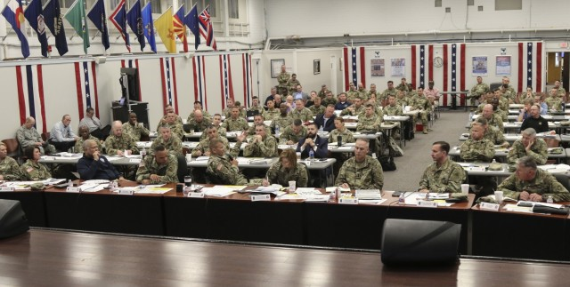 U.S. Army North Hosts 2019 Hurricane Rehearsal of Concept Drill