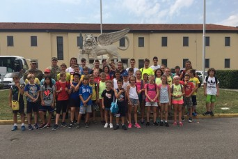 SUMMER ADVENTURES BRING ITALIAN YOUTH TO GARRISON