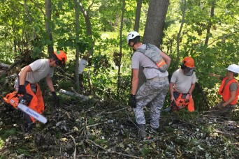 Wisconsin National Guard continues to respond to storms