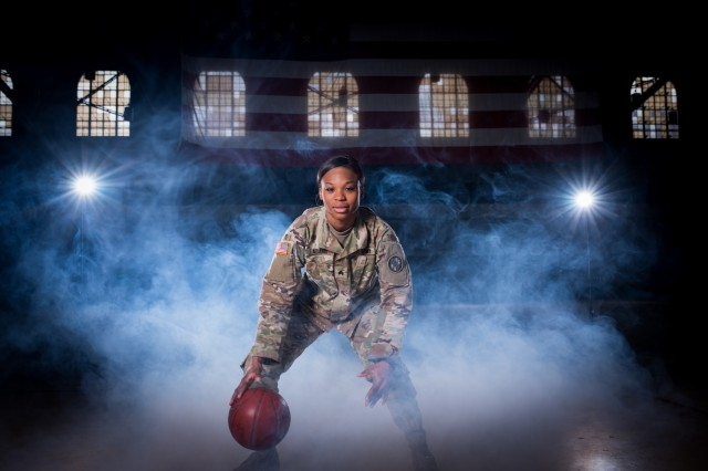 Sgt. Donita Adams, a religious affairs noncommissioned officer, has been in the National Guard since 2015. Originally she was going to be a human resources specialist, but her recruiter helped guide her into a slot that combined her desire to serve, with her commitment to faith.
